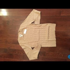 Gold Banana Republic sweater